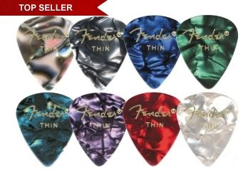 Fender 351 Premium Celluloid Guitar Picks $3.95+