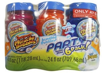 Super Miracle Bubbles Scented 6-Pack $2.59