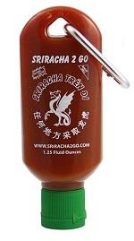 Sriracha 2 Go Keychain $7.00