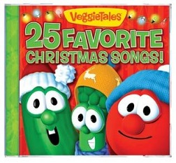 Veggie Tales 25 Favorite Christmas Songs $6.99