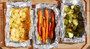 Guy Fieri's Grilled Vegetable Foil Packets