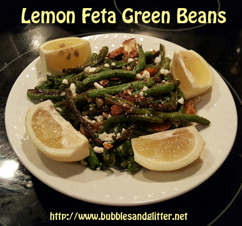 Lemon Feta Green Beans