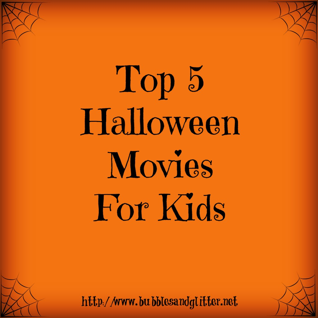 Top 5 Halloween Movies For Kids